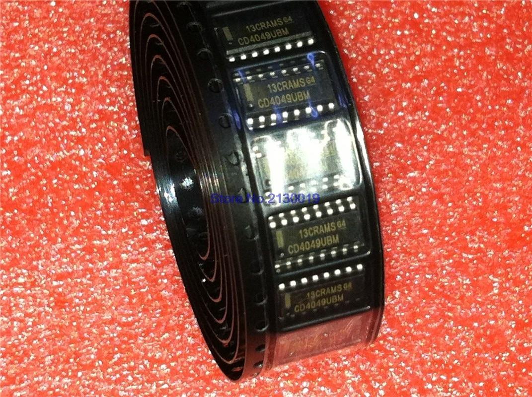 10pcs/lot CD4049UBM CD4049BM CD4049 SOP-16