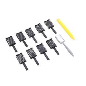 11 шт./компл. магнитная ручка кошачий глаз инструмент для дизайна ногтей светодиодный лак отмачиваемый гель для рисования 3D магнитная ручка ...