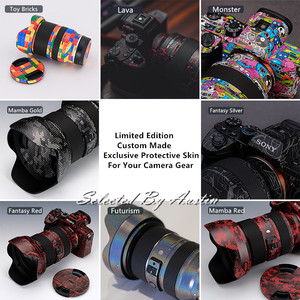 Image 5 - Premium Lente f1.2 Della Pelle Della Decalcomania Wrap Film Per Canon EF50mm Anti scratch Sticker Protector