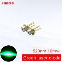Высокое качество 520nm 515nm 10 мВт зеленый свет лазерный диод стабильный тип полупроводниковый TO18 диаметр 5,6 мм