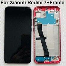 """100% الأصلي الجديد ل 6.26 """"شاومي Redmi 7 LCD شاشة عرض مع الإطار شاشة تعمل باللمس محول الأرقام ل شاومي Redmi 7 عرض الإطار"""