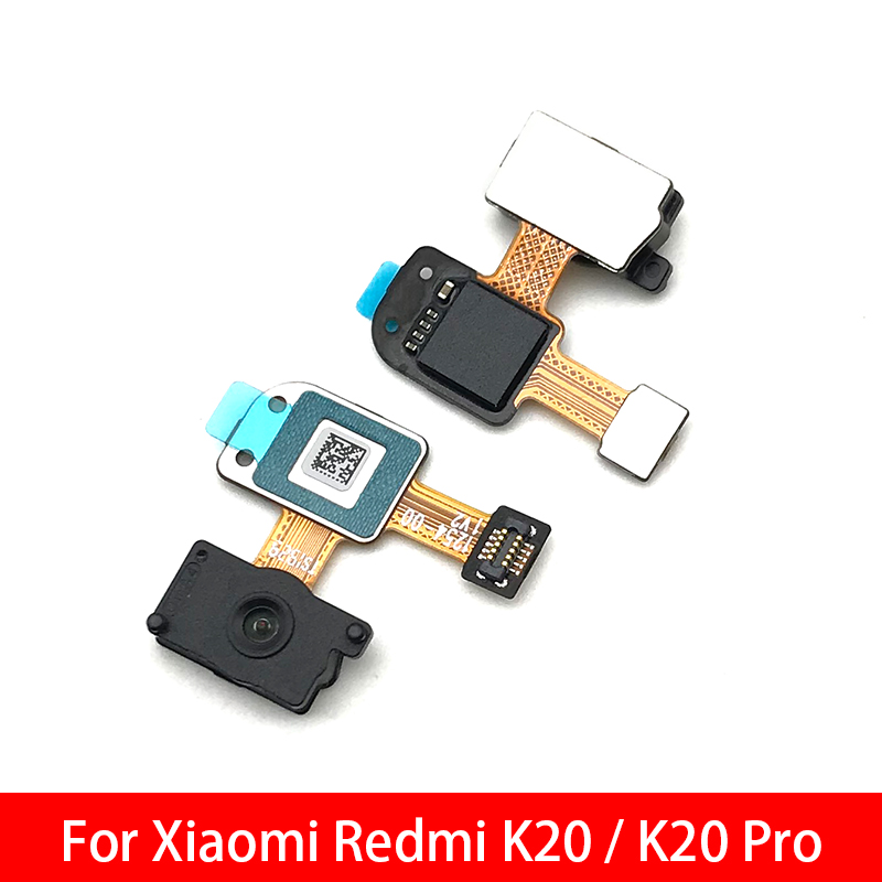 Repair Fingerprint Scanner For Xiaomi Redmi K20 Pro ID Home Button Fingerprint Menu Return Key Recognition Sensor Flex Cable