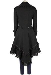 Image 5 - Medioevo Stile Punk A Vapore Femminile Pirati Costumi di Halloween Cosplay Gotico Vittoriano Medievale Camicia di Pizzo Donna Tuxedo