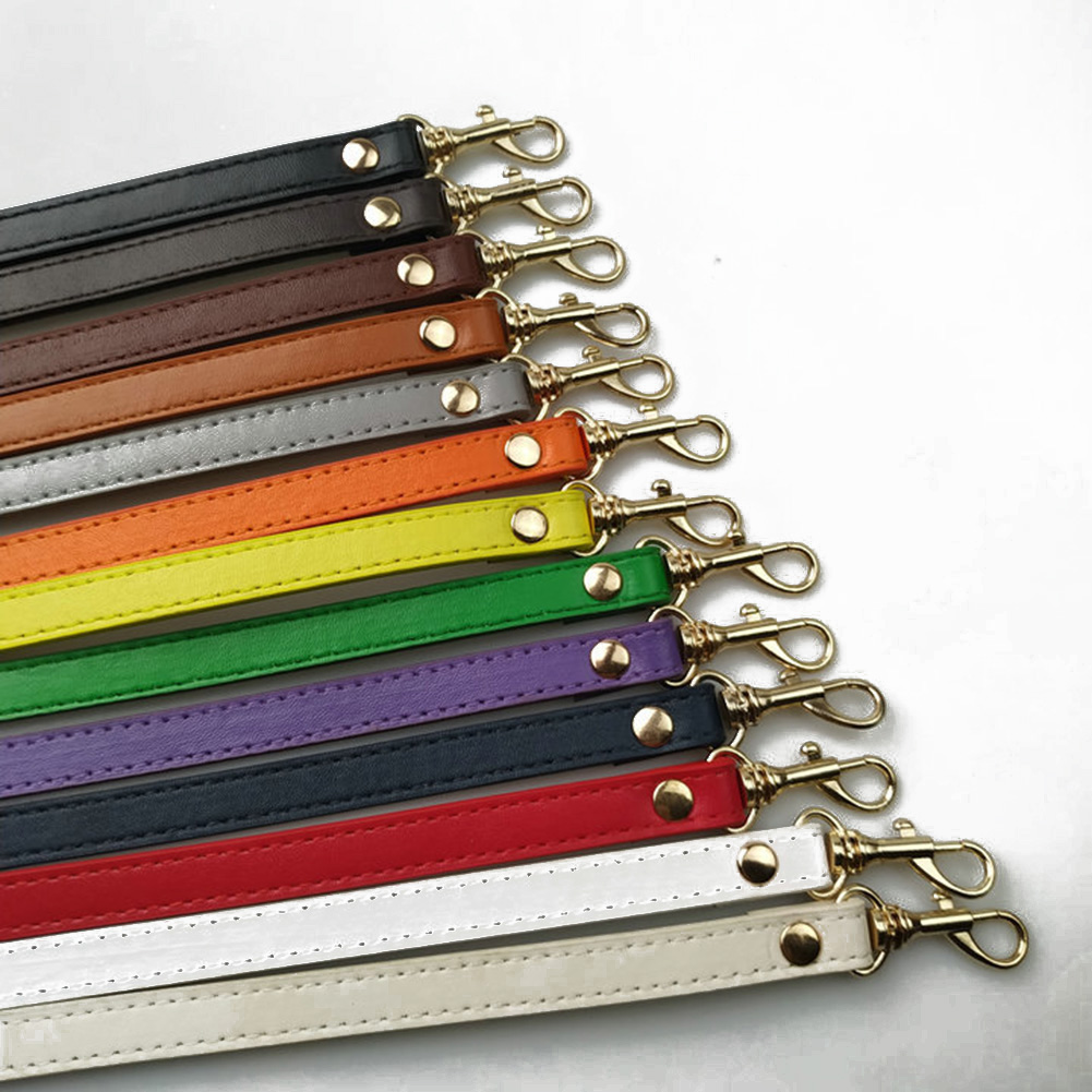 New 120cm Long PU Leather Shoulder Bag Strap DIY Handbag Handle Women Girls Handbags Buckle Belts Strap Bag Accessories