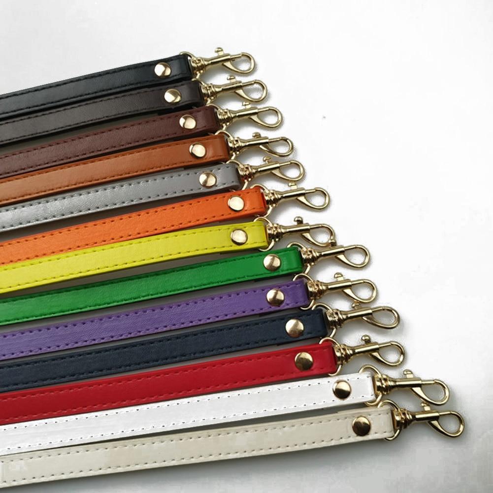 New 120cm Long PU Leather Shoulder Bag Strap DIY Handbag Handle Women Girls Handbags Buckle Belts Strap Bag Accessories