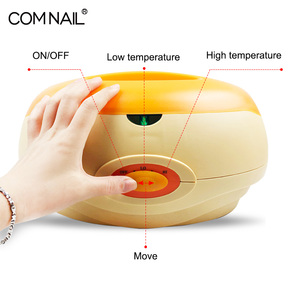 Image 2 - Hand Paraffin Heater Therapy Bath Wax Pot Warmer Beauty Salon Spa Wax Heater Equipment Keritherapy System Orange
