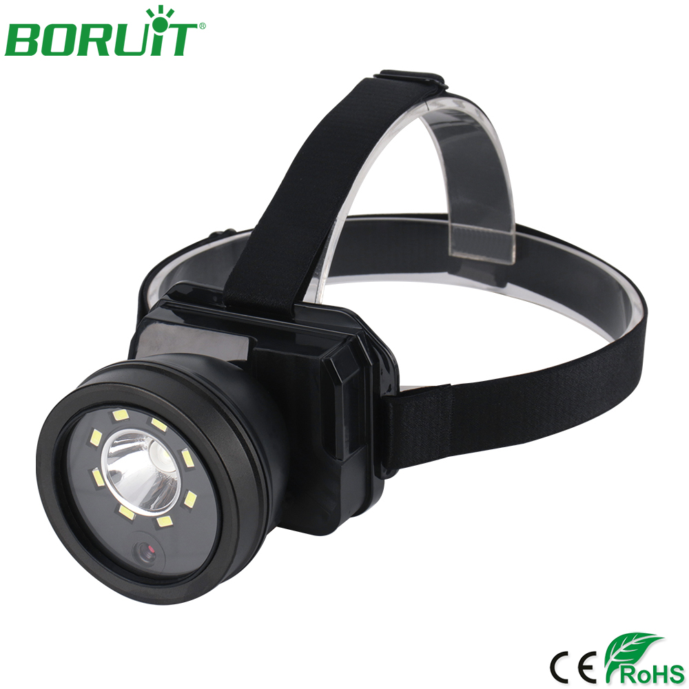 NEW Super Bright LED Headlamp Flashlight With 1080P Camera Lens Video Recorder Rechargeable Waterproof Camping Head Torch Light