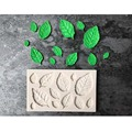 Силиконовая форма в форме листьев 3D для торта, форма для шоколадной помадки, печенья, инструменты для украшения тортов, кухонная посуда для ...