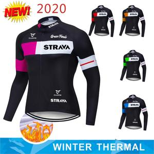 Winter Thermal Fleece 2020 Northwave Cycling Jersey Long MTB Cycle Clothing Sportswear Mountain Bike Clothes ropa ciclismo
