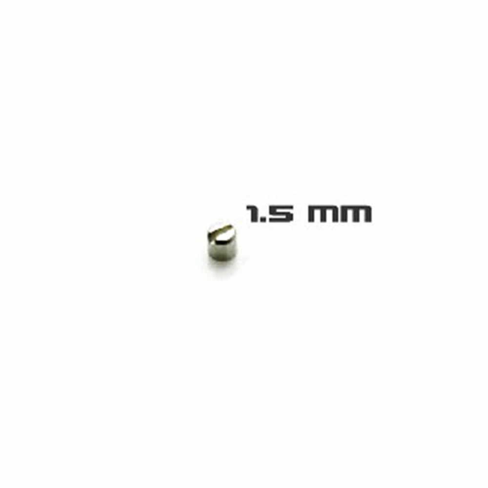 30pcs 2 Blindado Modelo de Suplementos de Parafusos 1.1 milímetros 1.5 milímetros mm 2.5 milímetros 3mm Parafusos Peças para MG HG Gundam Modelo Kit de Peças