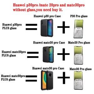 Image 5 - כבד אלומיניום מתכת זר אנטי התנגשות עמיד למים ספורט חכם טלפון מקרה, אסתטי יוקרה, huawei P30 פרו mate 20 30 פרו