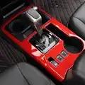 Per toyota 4 runner 4 runner consolle anteriore pannello di marcia Tazza box di stoccaggio titolare sticker trim telaio accessori per Interni 2010 2018