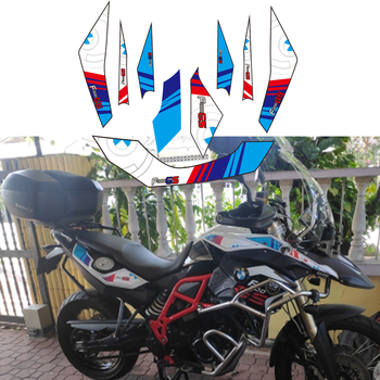 KODASKIN Motorcycle 2D Fairing Emblem Sticker Decal Full Kit Decoration for BMW F800GS F800 GS 2013-2017