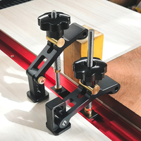 Adjustable T Track Clamp Hold Down Clamp for Standard T-Slot Router Table Saw Woodworking Bench Accessories