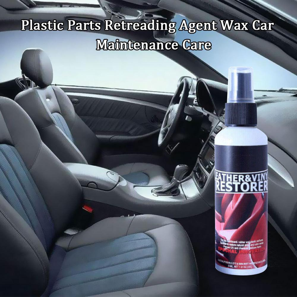 Plastic Parts Retreading Reducing Agent Wax Reducing Agent Wax Polisher Renovated Coating Paste Car Maintenance Care Agent