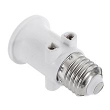 AC100-240V 4A E27 ABS ue złącze wtykowe akcesoria LED Adapter żarówki podstawka lampy śruba gniazdo elektryczne konwersja do świateł tanie tanio ARILUX CN (pochodzenie) Podstawy lamp ROHS Lamp socket Metal E27-EU Electronic component E27 interface shift to 2-pin EU plug general