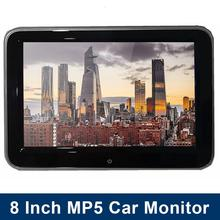 цена на 8'' HD Car Headrest Monitor DVD Video Player 7W TFT LCD Digital Screen Touch Button Game Remote Control Car MP5 Player