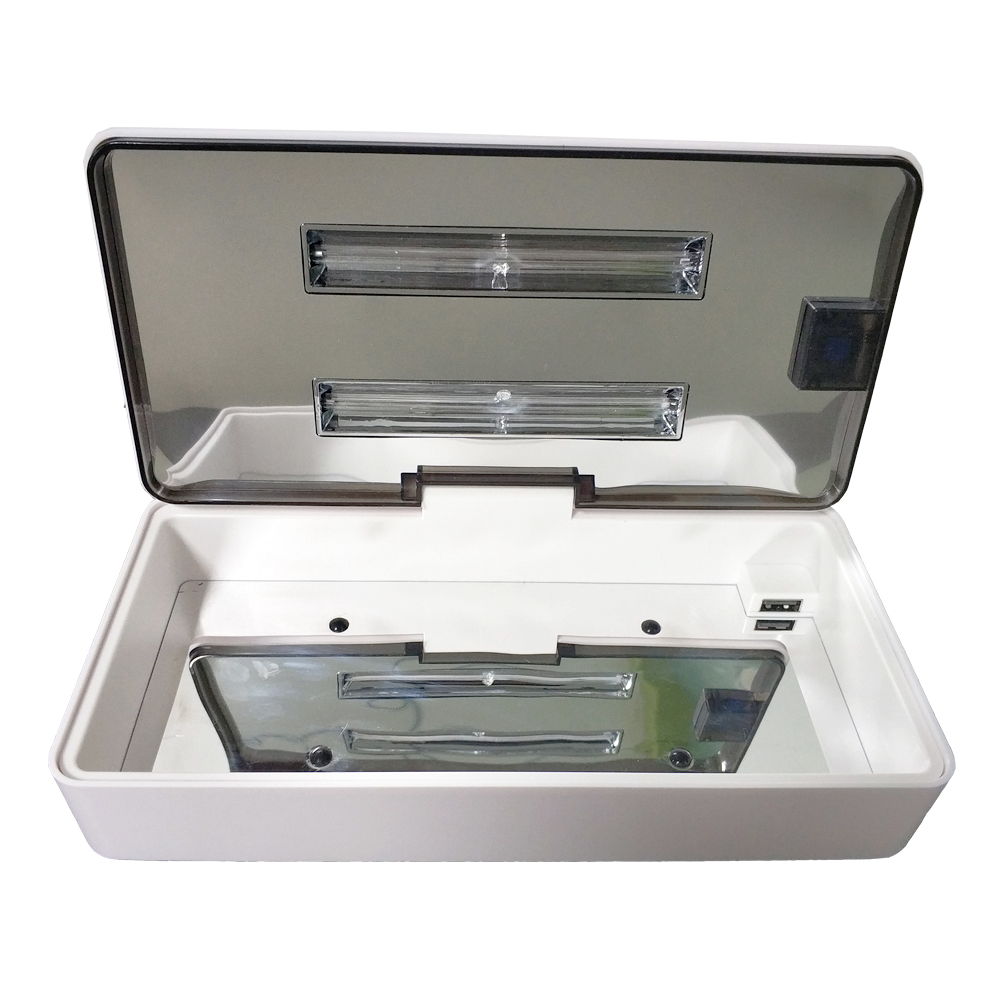 Tube & LED UV Sterilizer Box Nails Accessoires Personal Care Tools Rechargeable Disinfection Cleaning Device