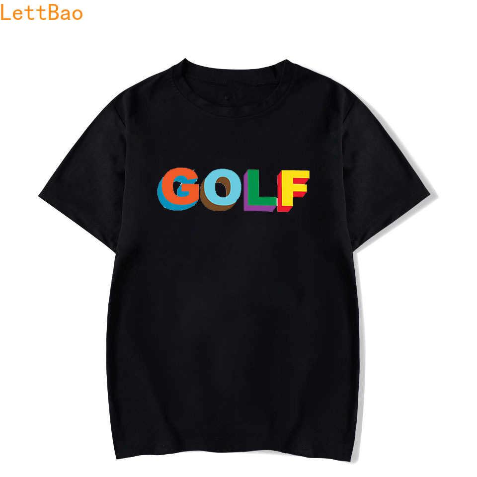 Golf Wang Tyler twórca Rap T-shirt mężczyźni/kobiety lato 2020 bawełna z krótkim rękawem nowa moda T koszula moda nowy nabytek prosty