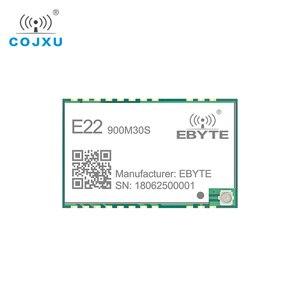 Image 2 - LORAWAN SX1262 LoRa TCXO 915 433mhz の無線モジュール ebyte E22 900M30S スタンプ穴 IPEX アンテナ 850 930 mhz の rf トランスミッタと受信機