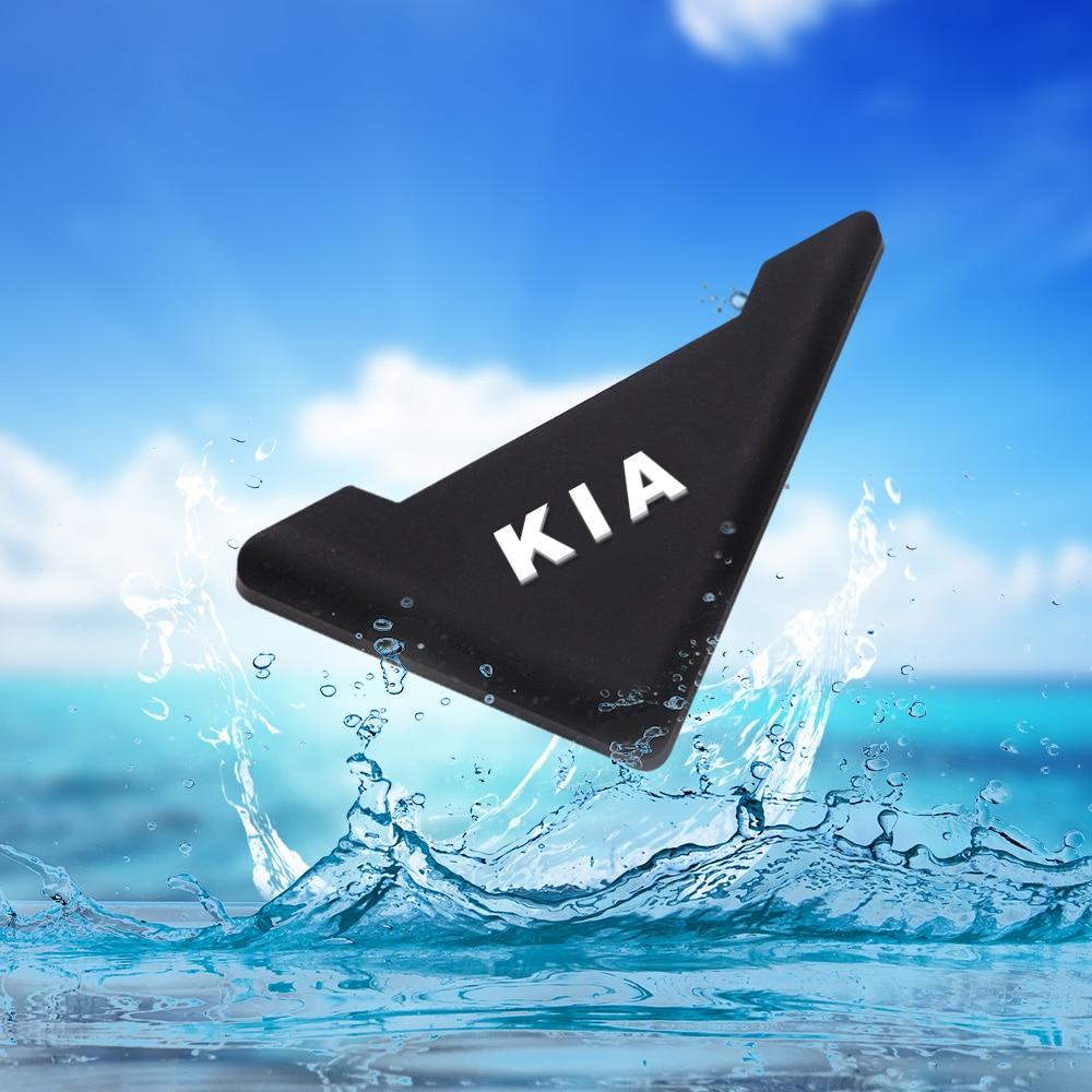 2 Piece/set Silicone Car Door 90 Degree Angle Corner Cover Bumper Crash Scratch Protector Anti-Scratch Crash Protection For KIA