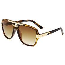 Brand Design New Sunglasses Fashion Men Square Luxury Sun Gl