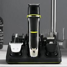 VGR 5 w 1 profesjonalny akumulator Carving Shave maszynka do włosów czarny zmywalny ostrze ze stali fryzjer elektryczna maszynka do włosów zestaw tanie tanio CN (pochodzenie) Globalny Uniwersalny (100-240 V) Dorosłych STAINLESS STEEL 60 Min Men women Children Within 1 month