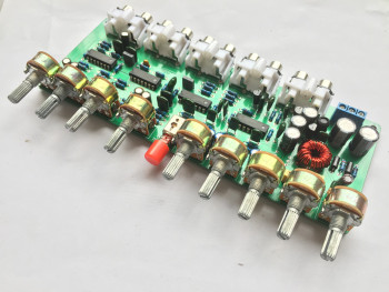 HIFI Enthusiast Preamplifier Board Front Panel Preamp Board Enhanced Version Pre-level Tuning King