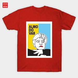 Almodovar T-Shirt Director Almodovar Work Spanish Movie Portrait Film Illustrations