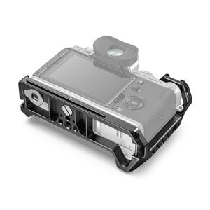 Image 2 - SmallRig X T4 Gabbia Fotocamera per FUJIFILM X T4 In Lega di Alluminio Gabbia Con Fredda Shoe Mount/Nato Fotocamera Ferroviario Video Accessori 2808