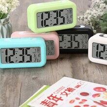 Alarm-Clocks Perpetual-Calendar Led-Display Temperature Desktop Digital Multifunction