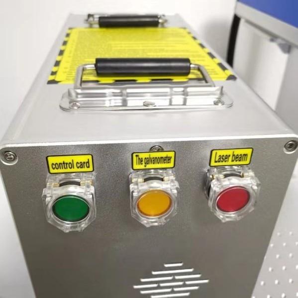 Fiber Laser Marking Machine With Rotary 30W Raycus Metal Engraving Machine 3