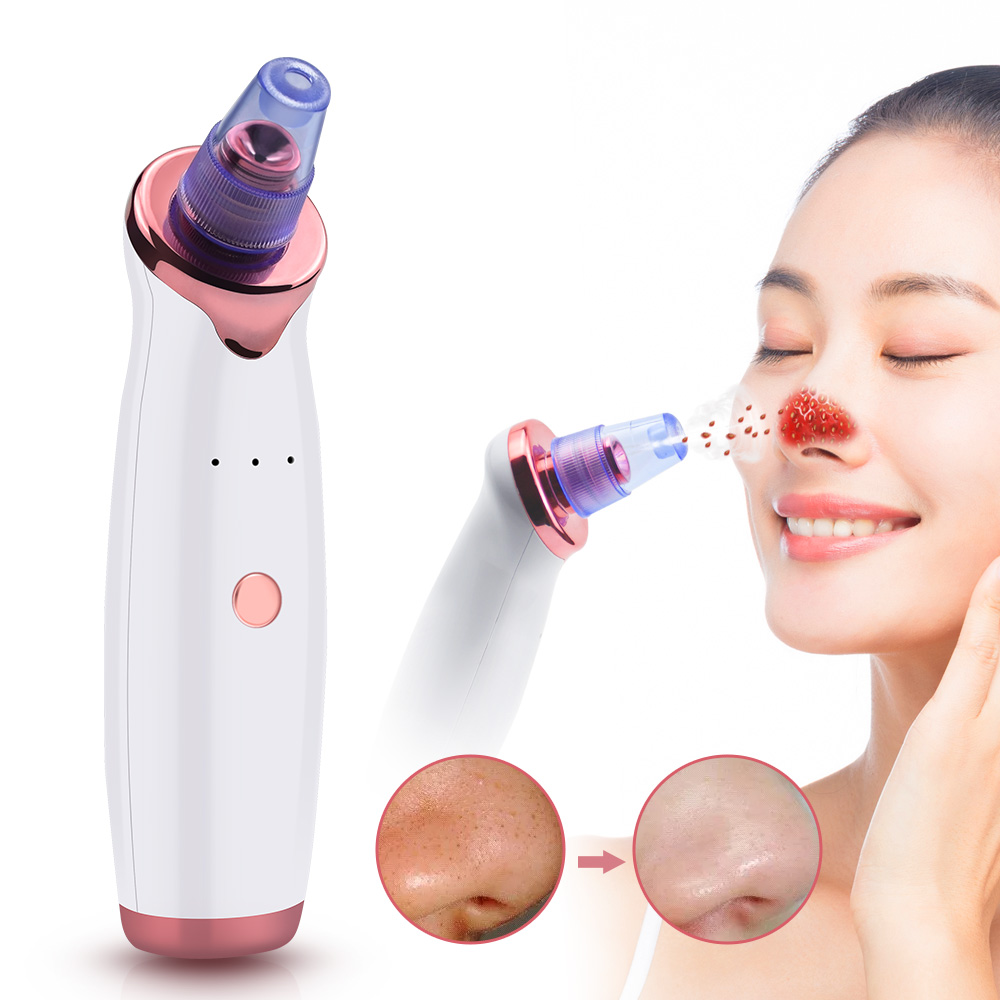 HOT Electric Vacuum Pore Cleaner Blackhead Remover Acne Pores Remove Exfoliating Cleansing Facial Beauty Instrument