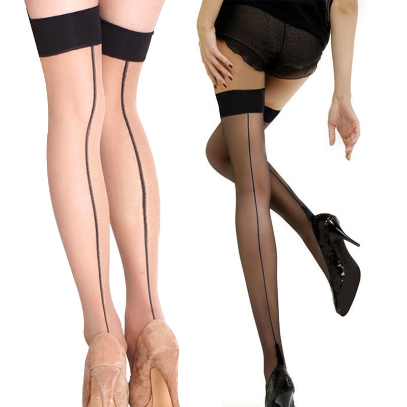 Summer Women Thigh High Stocking Over The Knee Socks Sexy Hosiery Stay Up Stockings H66