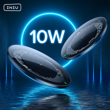 INIU 10W Qi chargeur sans fil LED USB Type C chargeur rapide pour iPhone 12 11 Pro Max Xs Xr X 8 Samsung S21 S20 S10 Note 20 10