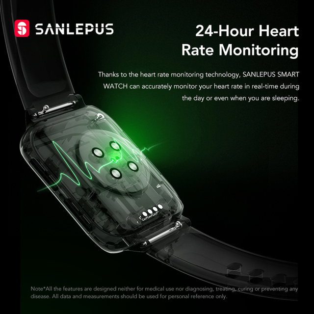 SANLEPUS 2021 Smart Watch Men Women Waterproof Watches Bluetooth Call Smartwatch MP3 Player For OPPO Android Apple Xiaomi Huawei 6