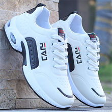 Men Shoes Sneakers Footwear Air-Cushion Bubble Outdoor Male Walking Breathable Lace-Up