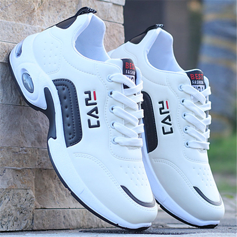 2019 New Men Shoes Air Cushion Sneakers Breathable Outdoor Walking Sport Shoes For Male Lace-up Casual Shoes Bubble Men Footwear