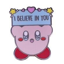 Kirby Pin Badge Brooch