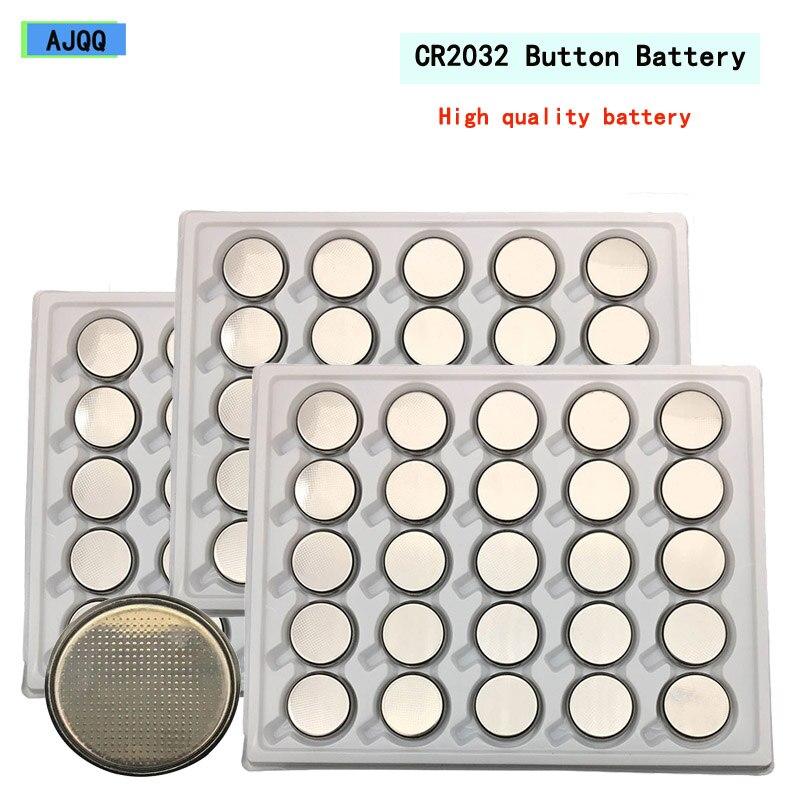 Les fournisseurs vendent 500 pièces d'origine flambant neuf 3V CR2032 Lithium bouton batterie 5004LC BR2032 ECR2032 CR 2032 jouet batterie au Lithium