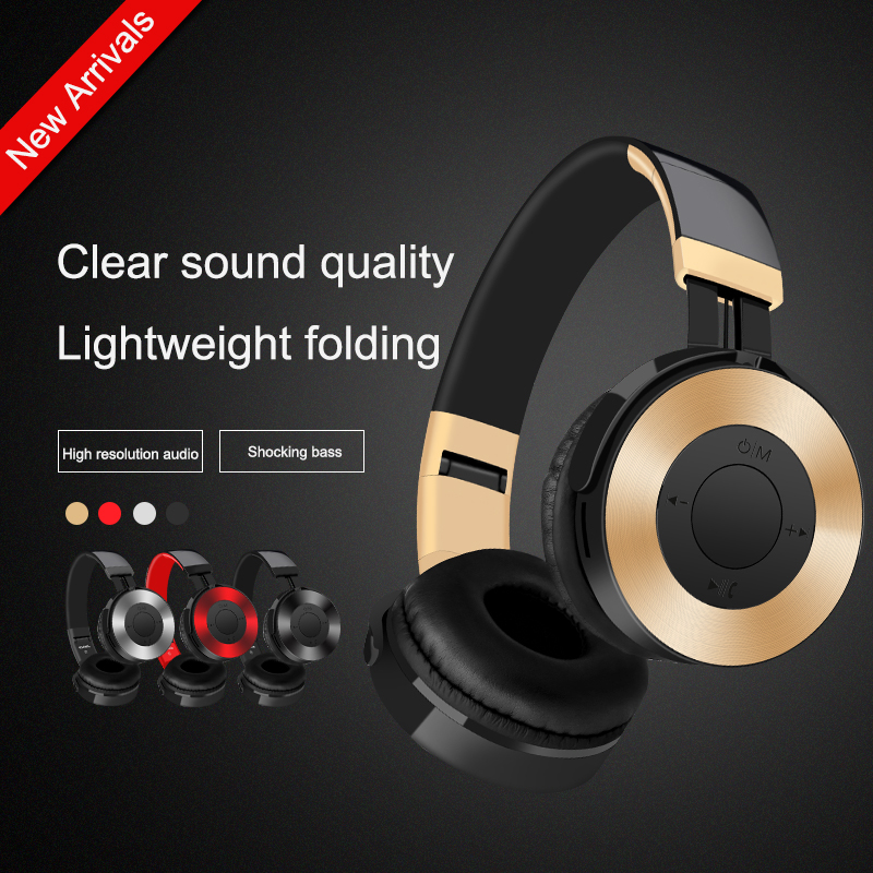 LVcards C Bluetooth Headset Wireless Earphones Sport Headphone Stereo Headsets With TF/FM/Mike Mode Headphones For Phones/VR/MP3