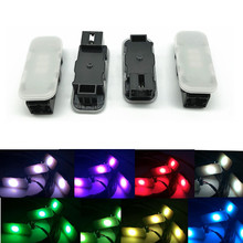 Car Interior Multicolor Led Footwell Light Multiple Colors Lamp Support 30 colors For VW Passat B8 Golf 7 MK7 7.5 Tiguan MK2