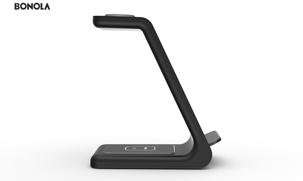 Bonola Qi 3 in1 Wireless Charging Station For iPhone11ProXrXsAirPods ProiWatch5 4 Wireless Charger For SamsungS10BudsWatch (8)