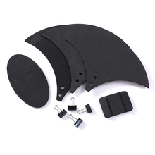 10pcs Bass Snare Drum Sound Off Mute Silencer Drumming Rubber Practice Pad Set Y51D 12 silent drum practice pads for beginner rubber and wooden drumming practise dumpad for drummers 200 d