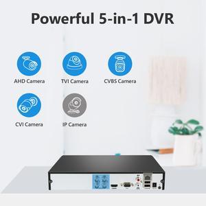 Image 2 - SANNCE 4CH HD 1080P ระบบกล้องวงจรปิด 1080P เอาต์พุต HDMI กล้องวงจรปิด DVR HD 2.0MP กล้องรักษาความปลอดภัย IR Night กันน้ำชุดการเฝ้าระวัง