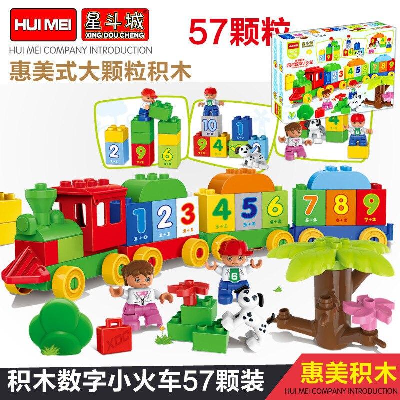 0136 57pcs Large Bulk Classic DIY Constructor Model Kit Blocks Compatible LEGO Bricks Toys For Boys Girls Children Modeling