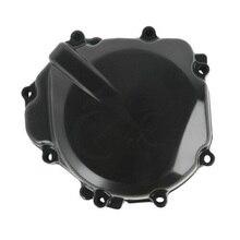цена на Motorcycle Left Stator Engine CrankCase Cover For SUZUKI GSXR 600 750 2004-2005 GSXR1000 2003-2004 GSR400 2006-2011 Black