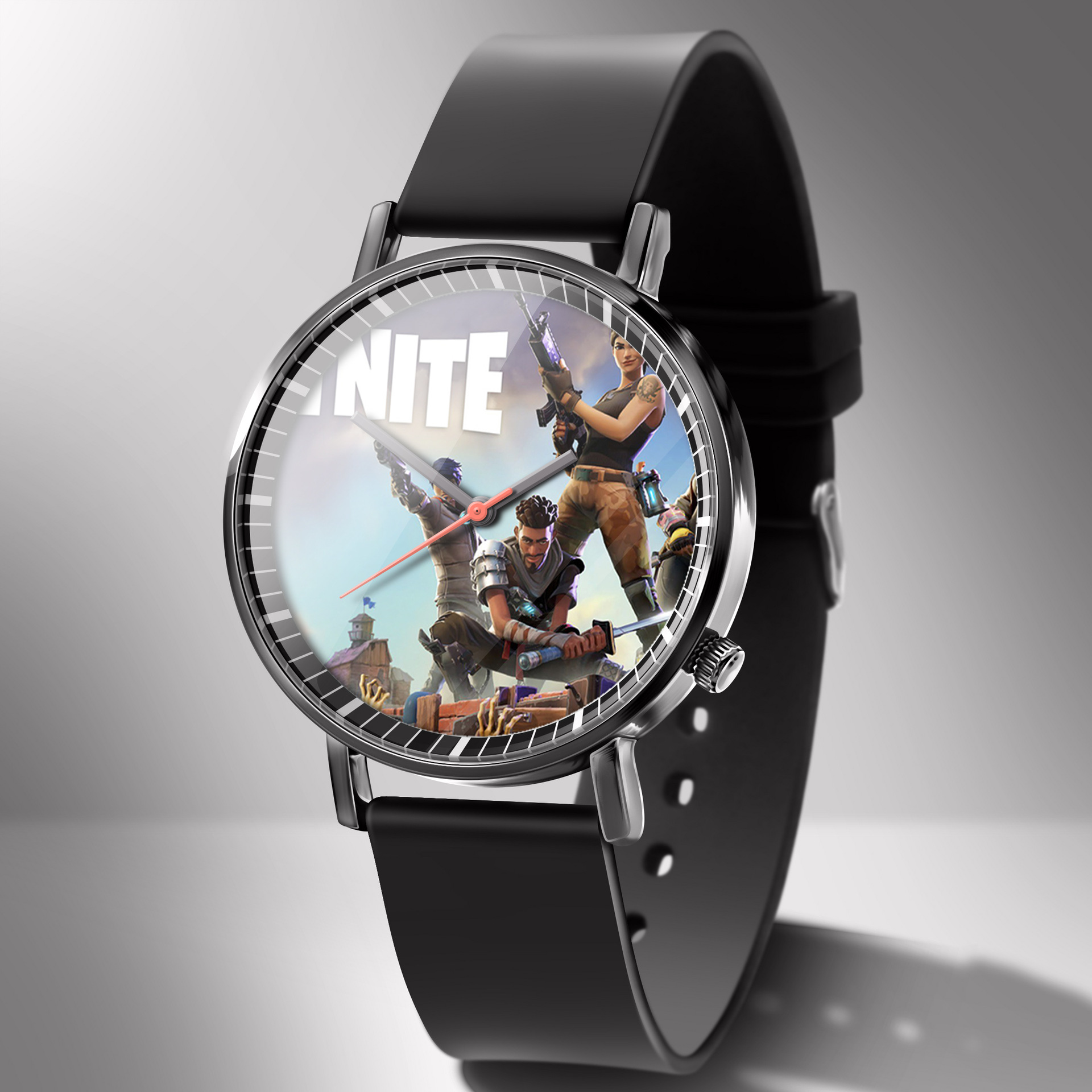 Fortnite watch student watch competitive shooting game trend fashion men's creative electronic student watch gift for children