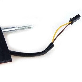 Водонепроницаемый задний светильник, ударопрочный автомобильный тормозной Стоп-стоп, сменный пластик