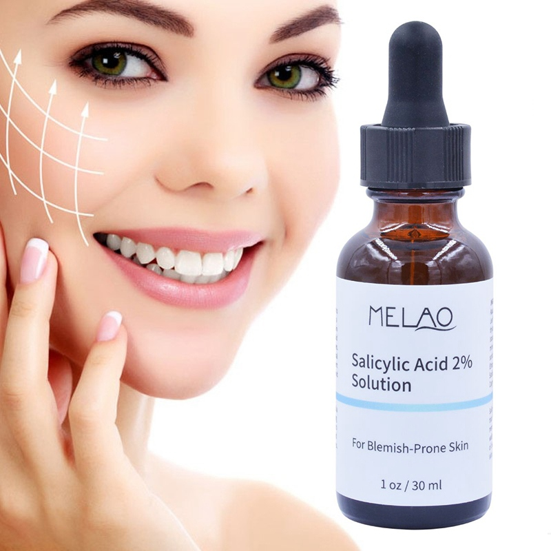 Face Serum  Salicylic Acid Solution Exfoliation Shrinking Pores Brighten Skin Color Mild And Non-irritating Face Serum